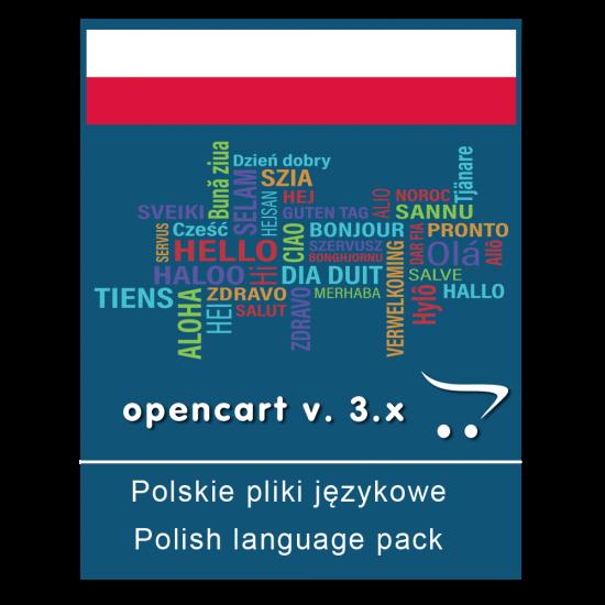 Polskie pliki językowe - OpenCart v. 3.x