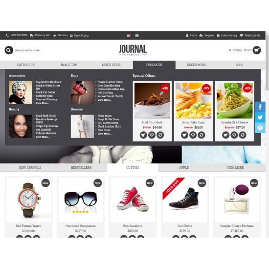 OpenCart PL v. 2.3.0.2 GOLD 02 - Gotowy sklep internetowy z wbudowanym blogiem