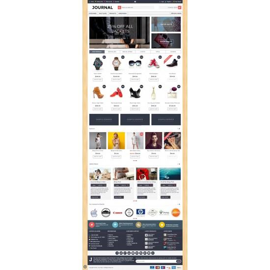 OpenCart PL v. 2.3.0.2 GOLD 03 - Gotowy sklep internetowy z wbudowanym blogiem