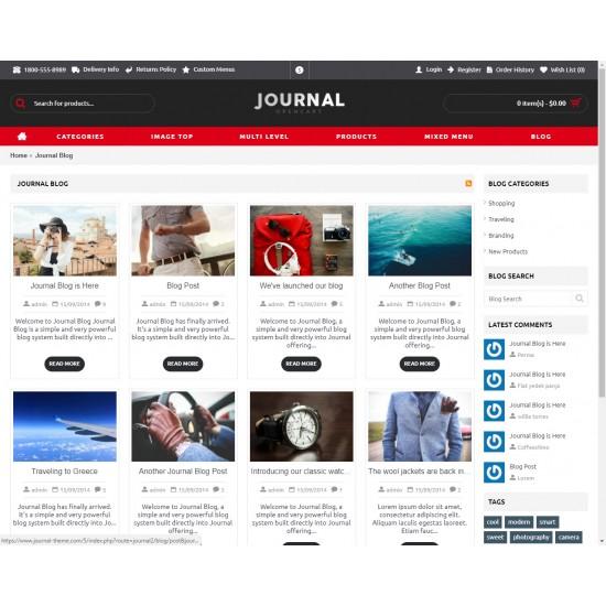 OpenCart PL v. 2.3.0.2 GOLD 05 - Gotowy sklep internetowy z wbudowanym blogiem