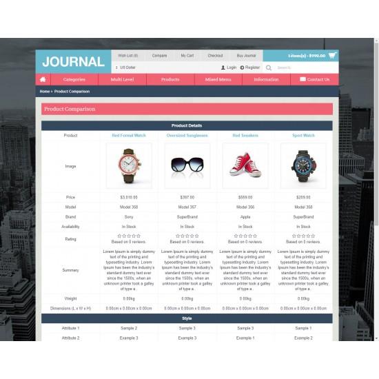 OpenCart PL v. 2.3.0.2 GOLD 06 - Gotowy sklep internetowy z wbudowanym blogiem