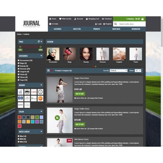 OpenCart PL v. 2.3.0.2 GOLD 07 - Gotowy sklep internetowy z wbudowanym blogiem