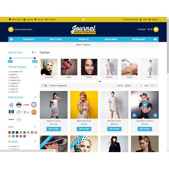 OpenCart PL v. 2.3.0.2 GOLD 08 - Gotowy sklep internetowy z wbudowanym blogiem