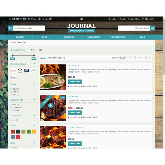 OpenCart PL v. 2.3.0.2 GOLD 09 - Gotowy sklep internetowy z wbudowanym blogiem