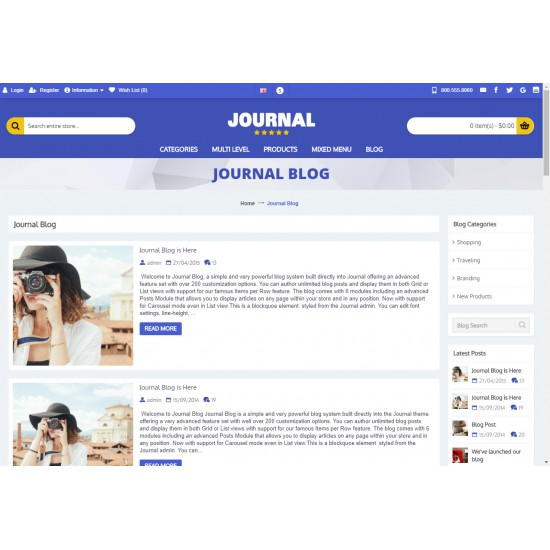 OpenCart PL v. 2.3.0.2 GOLD 11 - Gotowy sklep internetowy z wbudowanym blogiem