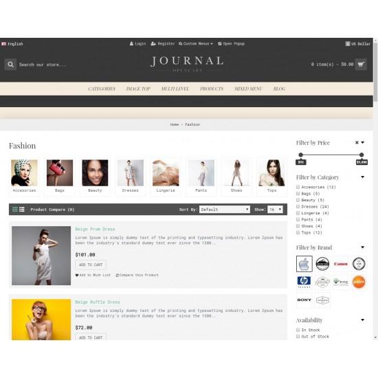 OpenCart PL v. 2.3.0.2 GOLD 12 - Gotowy sklep internetowy z wbudowanym blogiem