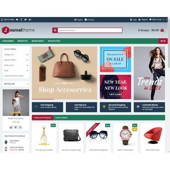 OpenCart PL v. 2.3.0.2 GOLD 13 - Gotowy sklep internetowy z wbudowanym blogiem