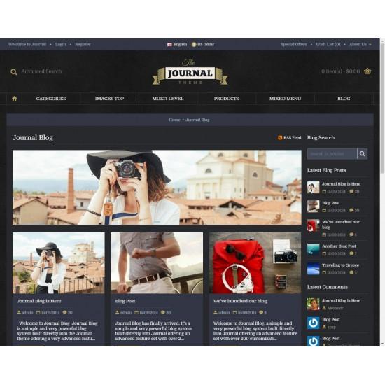 OpenCart PL v. 2.3.0.2 GOLD 14 - Gotowy sklep internetowy z wbudowanym blogiem