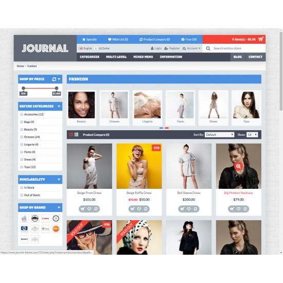 OpenCart PL v. 2.3.0.2 GOLD 15 - Gotowy sklep internetowy z wbudowanym blogiem