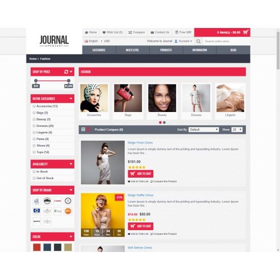 OpenCart PL v. 2.3.0.2 GOLD 01 - Gotowy sklep internetowy z wbudowanym blogiem