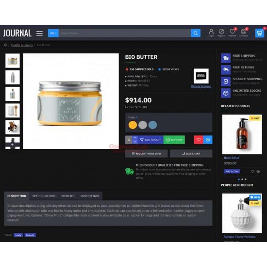 OpenCart PL 336 GOLD - Gotowy sklep internetowy z wbudowanym blogiem