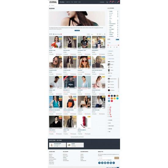 OpenCart PL 338 GOLD - Gotowy sklep internetowy z wbudowanym blogiem