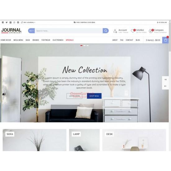 OpenCart PL 339 GOLD - Gotowy sklep internetowy z wbudowanym blogiem
