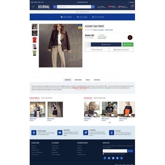 OpenCart PL 3310 GOLD - Gotowy sklep internetowy z wbudowanym blogiem